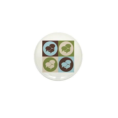 Interpreting Pop Art Mini Button (10 pack)
