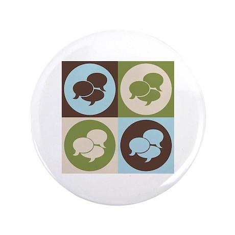 """Interpreting Pop Art 3.5"""" Button (100 pack)"""