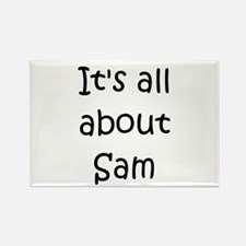 Cool Sam Rectangle Magnet