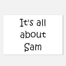 Cute Sam Postcards (Package of 8)