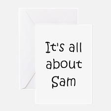 Unique Sam Greeting Card