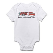 Future Train Engineer Infant Bodysuit