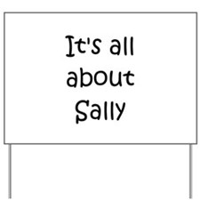 Cool Sally Yard Sign