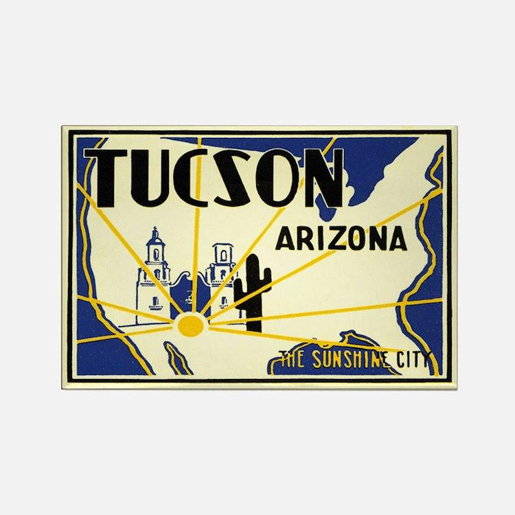 Tucson; Sunshine City Rectangle Magnet
