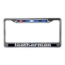 Leatherman License Plate Frame