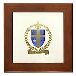 LACOMBE Family Crest Framed Tile