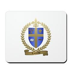 LACOMBE Family Crest Mousepad
