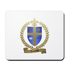 LACOMBE Family Crest Mousepad