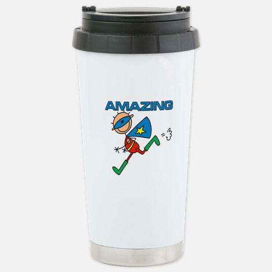 Amazing Boy Stainless Steel Travel Mug