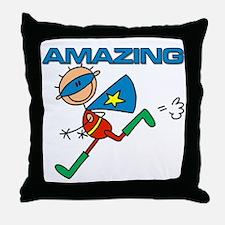 Amazing Boy Throw Pillow