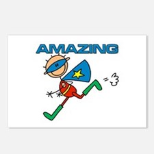 Amazing Boy Postcards (Package of 8)