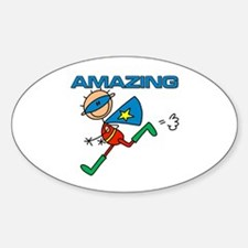 Amazing Boy Oval Decal
