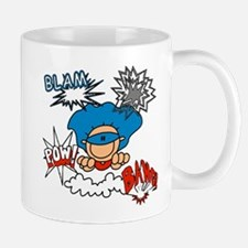 Blam Pow Super Boy Mug