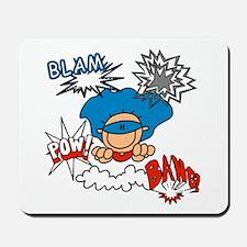 Blam Pow Super Boy Mousepad