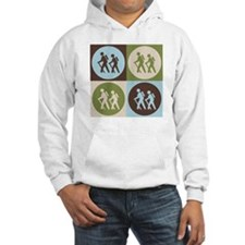 Hiking Pop Art Hoodie