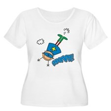 Boy Hero Flying T-Shirt