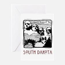 South Dakota Mount Rushmore Greeting Cards (Packag