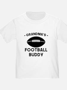 Grandmas Football Buddy T-Shirt