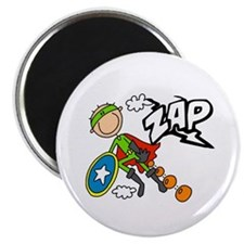 ZAP Boy Hero Magnet