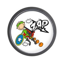 ZAP Boy Hero Wall Clock