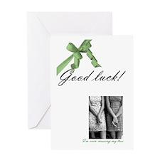 """""""Good Luck"""" Card"""