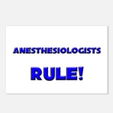 Anesthesiologists Rule! Postcards (Package of 8)