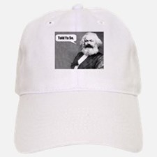 Karl Marx Baseball Baseball Cap