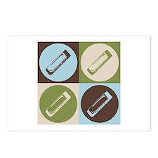 Harmonica Pop Art Postcards (Package of 8)