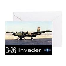 B-26 / A-26 Invader Greeting Card