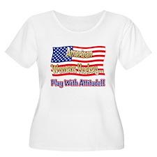 American Womens Hockey T-Shirt