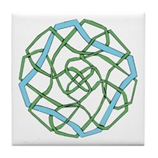 Cute Round celtic Tile Coaster