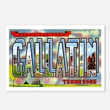 Gallatin Tennessee Greetings Postcards (Package of