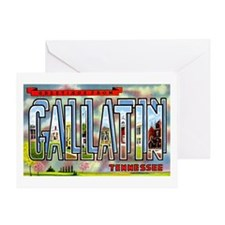 Gallatin Tennessee Greetings Greeting Card