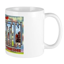 Gallatin Tennessee Greetings Mug
