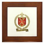 LANDRY Family Crest Framed Tile