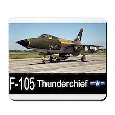 F-105 Thunderchief Fighter Bomber Mousepad
