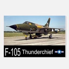 F-105 Thunderchief Fighter Bomber Postcards (Packa