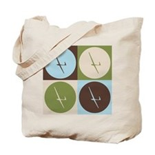 Gliding Pop Art Tote Bag