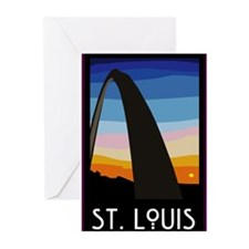 St. Louis Arch Greeting Cards (Pk of 10)