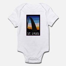 St. Louis Arch Infant Creeper