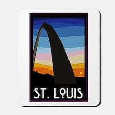 St. Louis Arch Mousepad