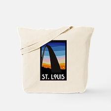St. Louis Arch Tote Bag