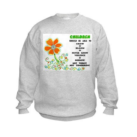 Love The Children! Kids Sweatshirt