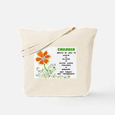 Love The Children! Tote Bag