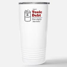 'Enjoy Toxic Debt' Stainless Steel Travel Mug