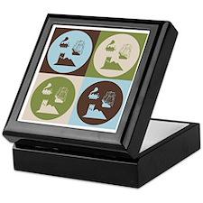 German Board Game Pop Art Keepsake Box
