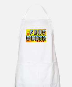 Fort Worth Texas Greetings BBQ Apron