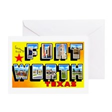 Fort Worth Texas Greetings Greeting Card