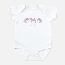 """Elegant"" Akita Infant Bodysuit"