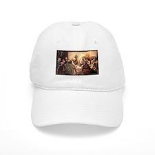 Jesus Eats with Disciples Baseball Cap